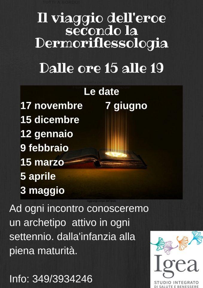 Corso Il Viaggio Dell Eroe Secondo La Dermoriflessologia Igea Studio Udine